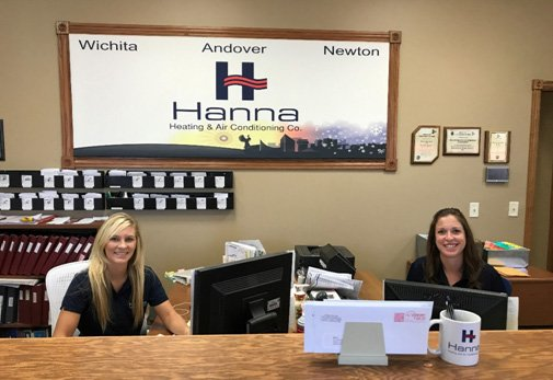 receptionists at Wichita office ready to answer your call