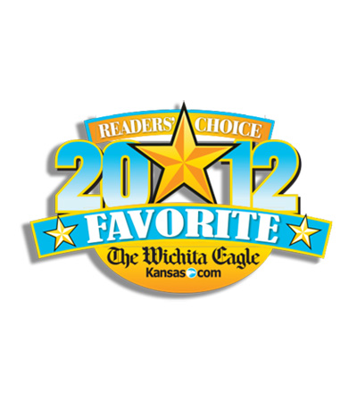 Reader's Choice 2012 award seal