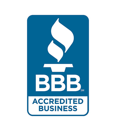 logo for the Better Business Bureau accredited business
