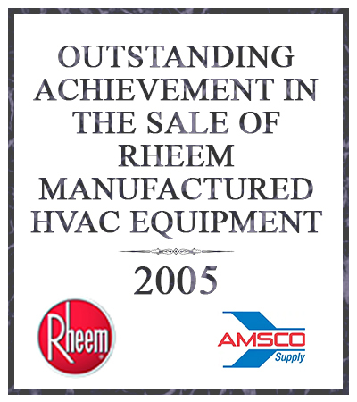 outstanding achievement in sales 2005