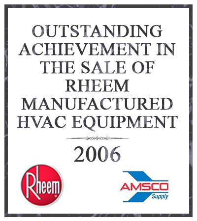 outstanding achievement in sales 2006