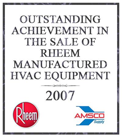 outstanding achievement in sales 2007