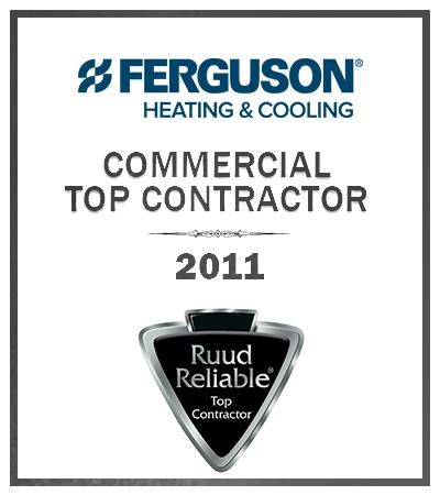2011 Commercial top contractor award