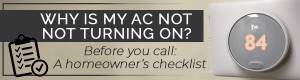 AC not turning on graphic