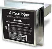 Air Scrubber Plus is a filtration device used to clean your indoor air