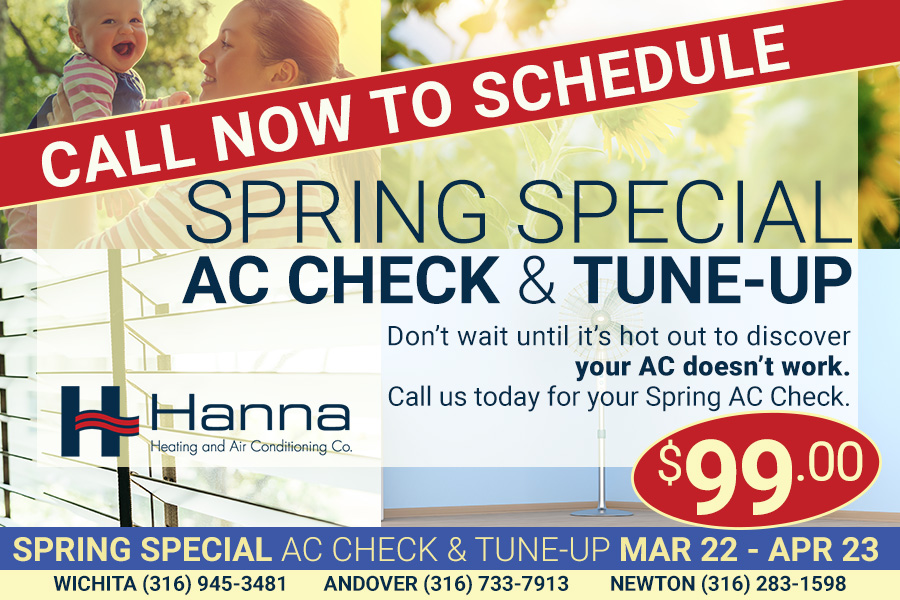 Wichita spring AC tune up discount