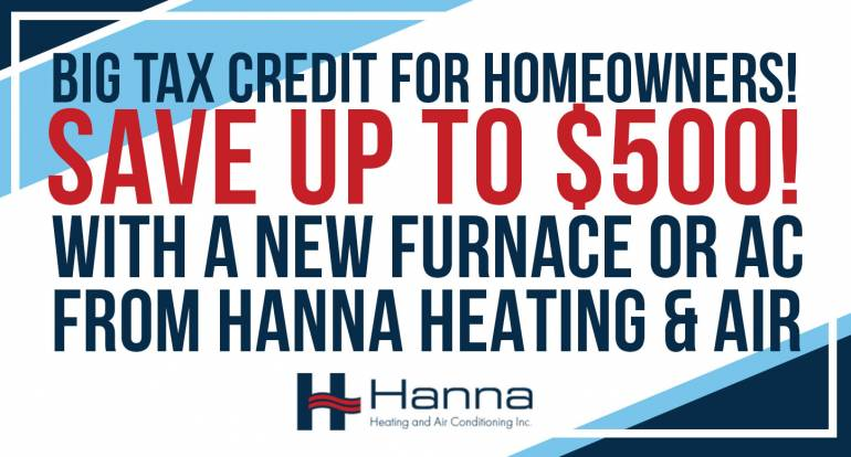 Big HVAC Tax Credit for Homeowners