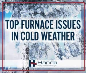 top cold weather problems for furnaces